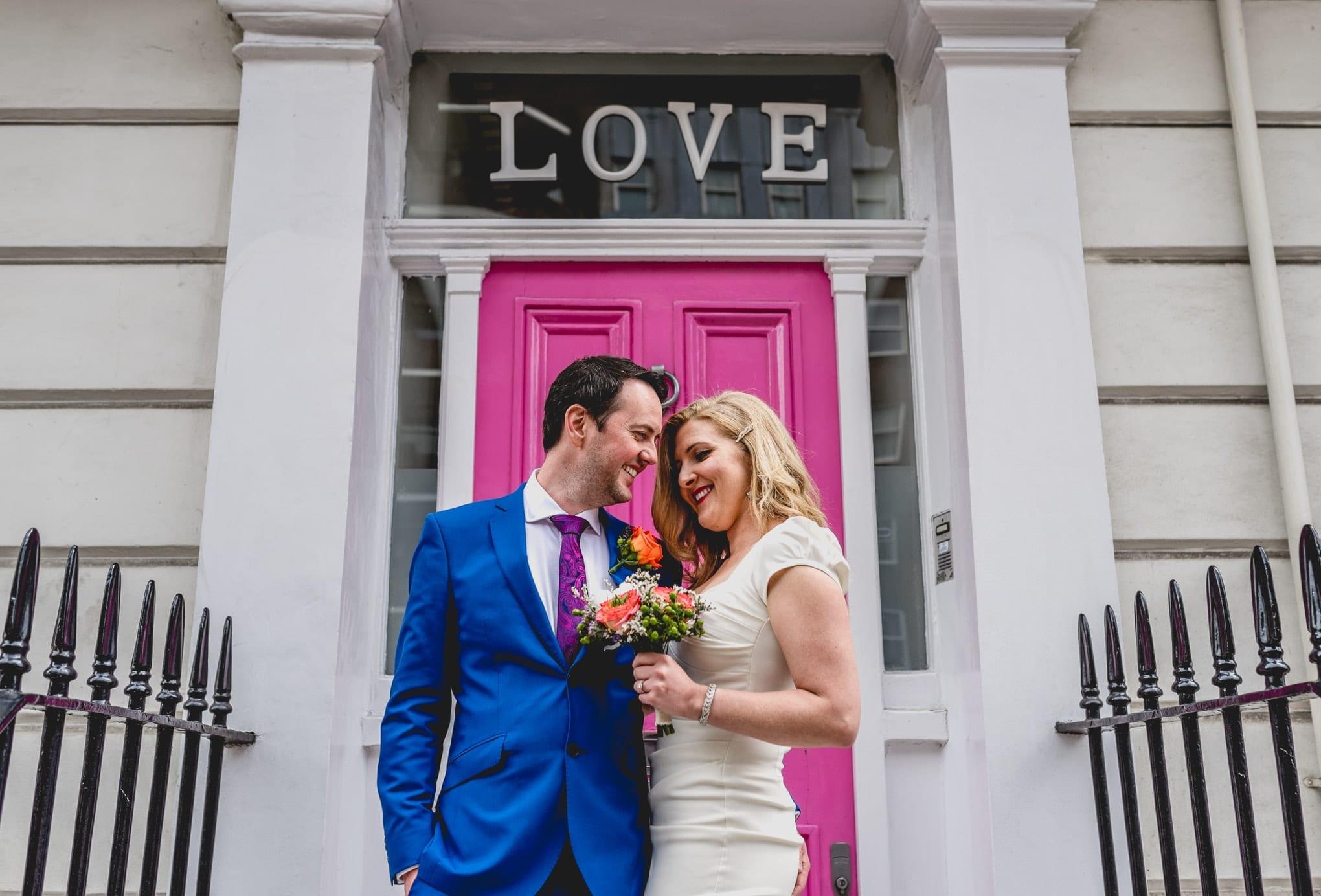 Chelsea Town Hall Wedding