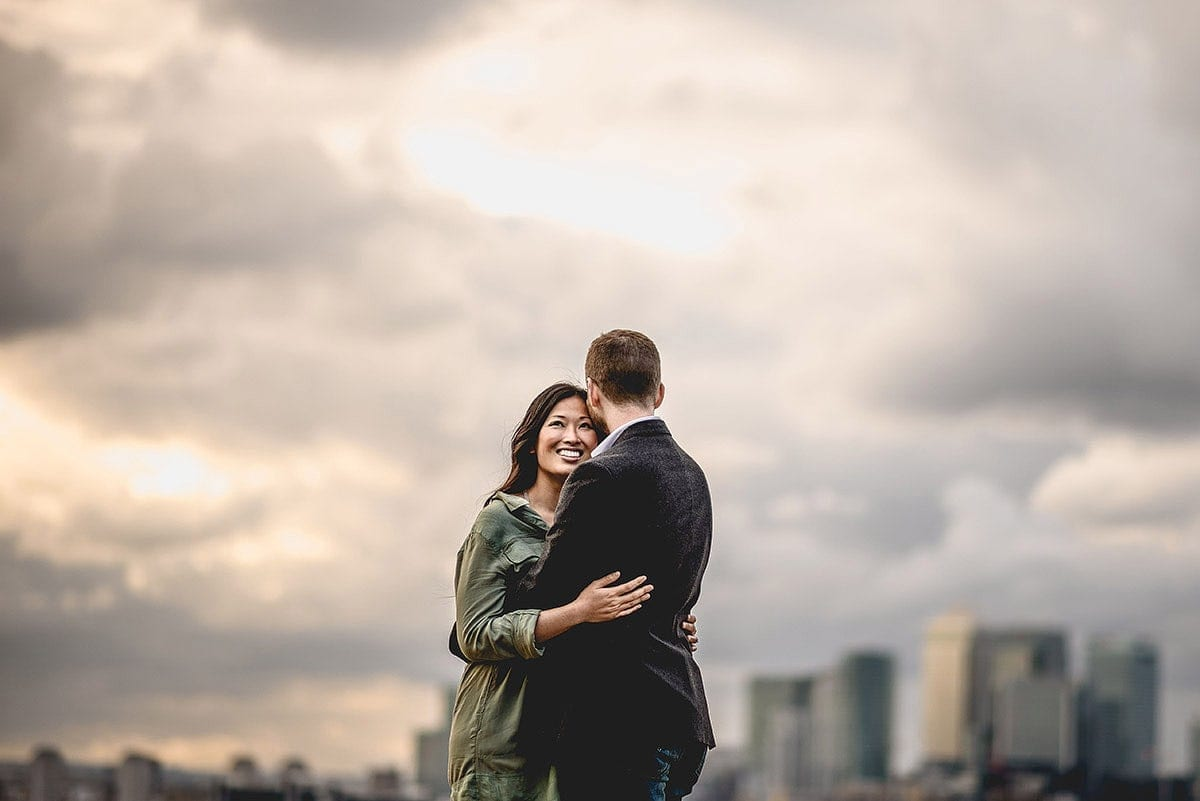 Greenwich engagement shoot