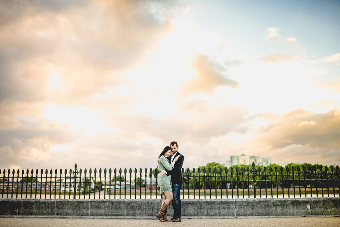 Greenwich engagement shoot