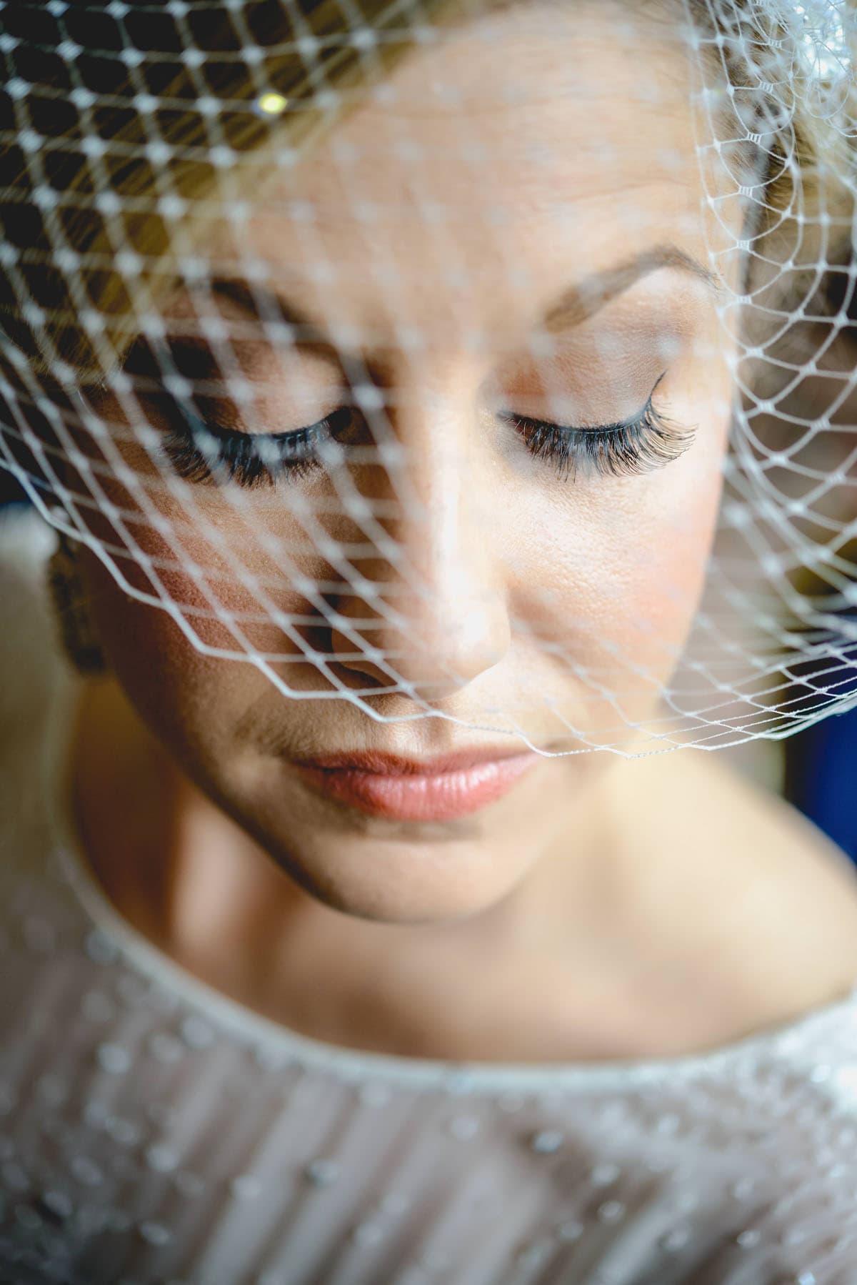 bride portrait Clandeboye Estate Wedding Photography