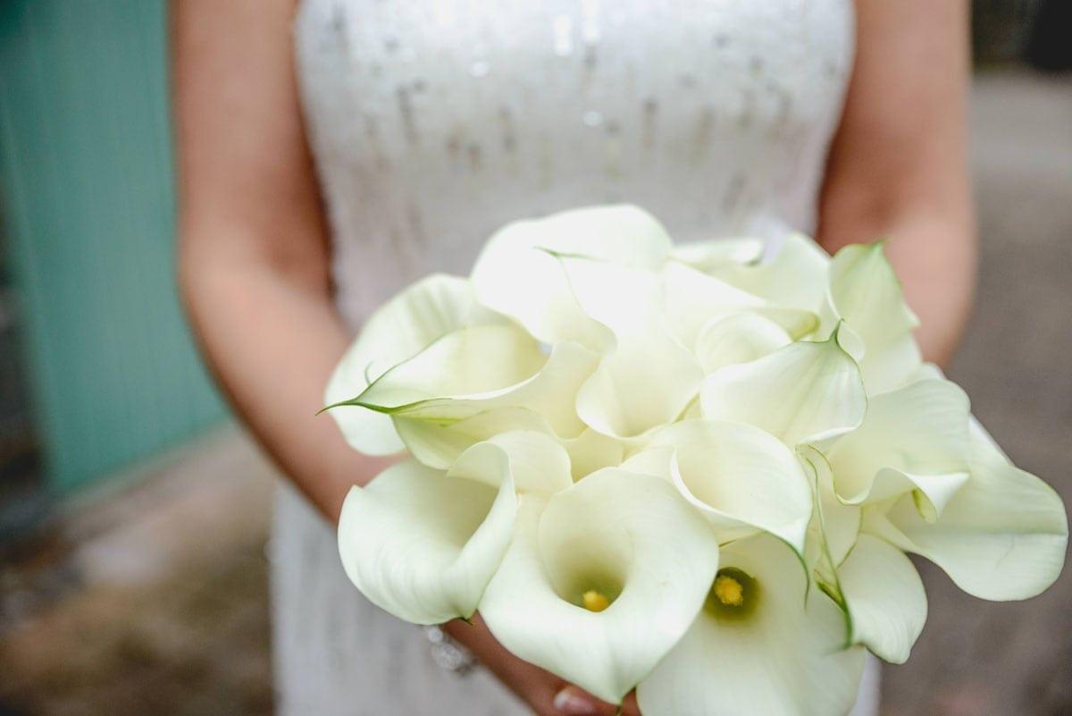 Brides bouquet Clandeboye Estate Wedding Photography