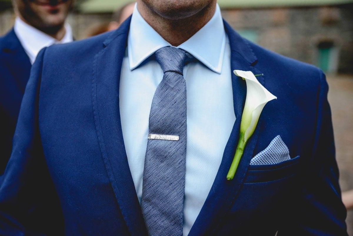 Grooms buttonhole Clandeboye Estate Wedding Photography