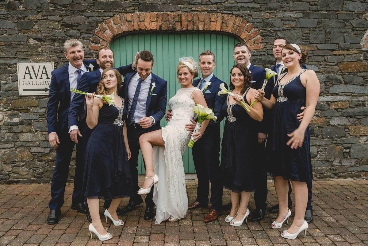 Group shot Clandeboye Estate Wedding Photography
