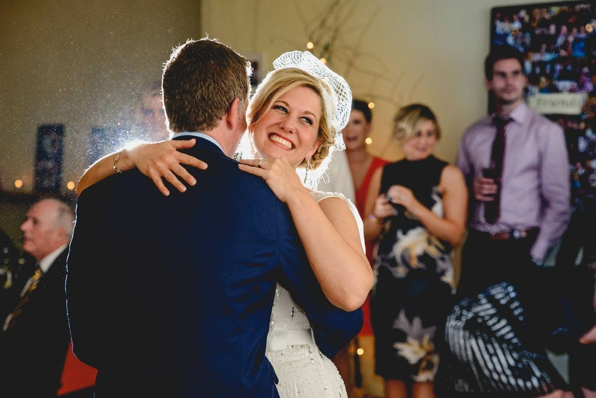 Bride and grooms first dance at Clandeboye Estate Wedding Photography