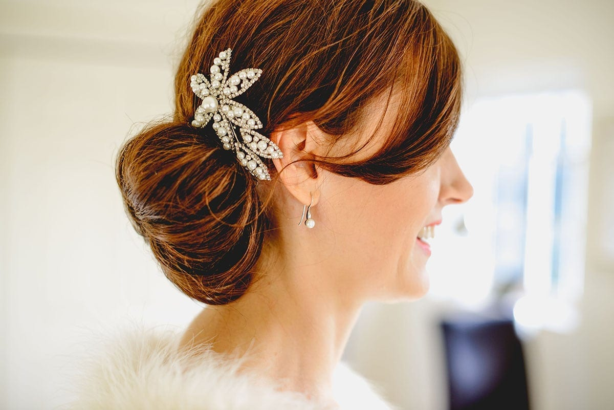 Brides accessory. Loseley Park Wedding Photographer