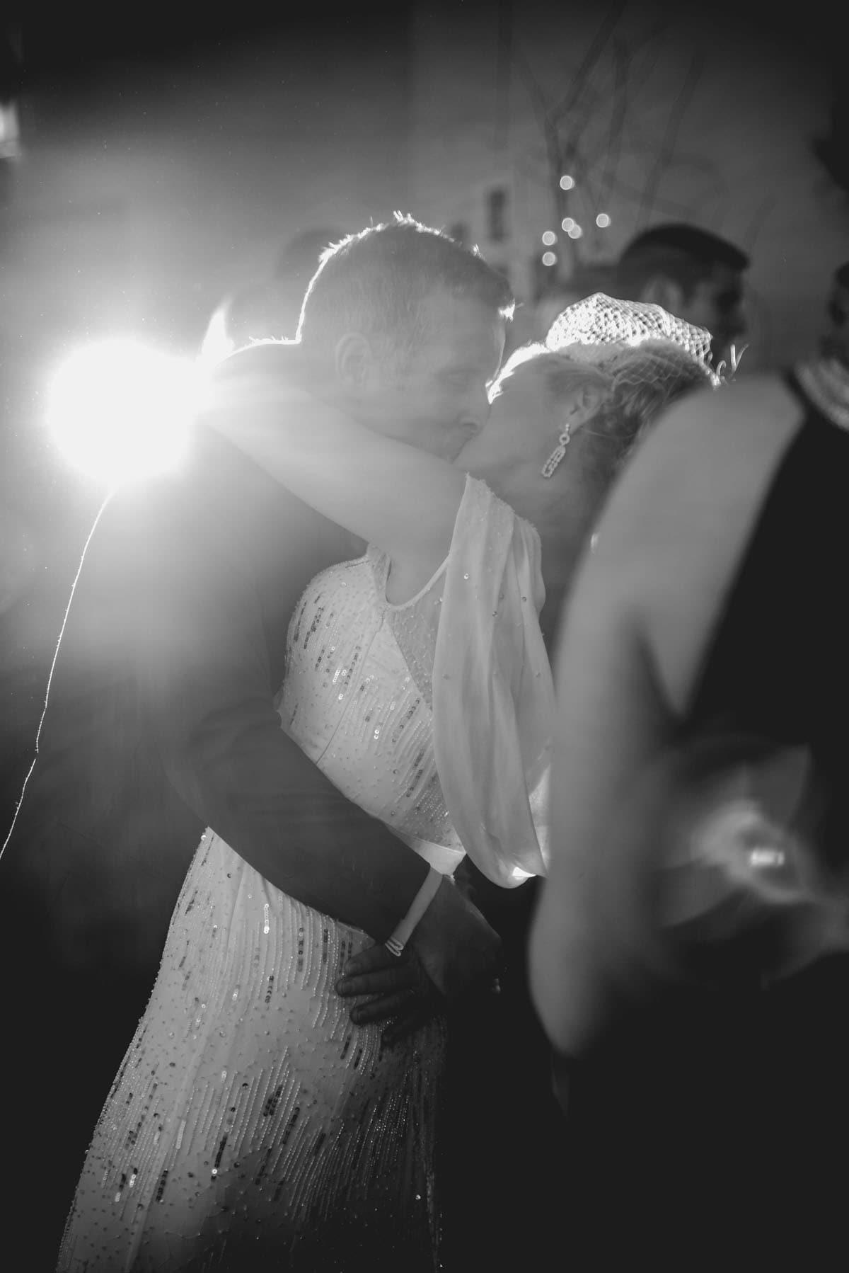 Bride and groom dancing at Clandeboye Estate Wedding Photography