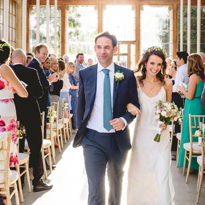 Edwina and James - Wedding at Kew Gardens